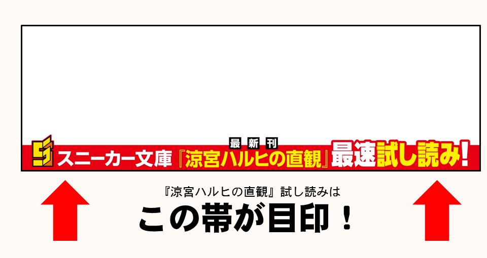 「涼宮ハルヒの直観」最速試し読み!