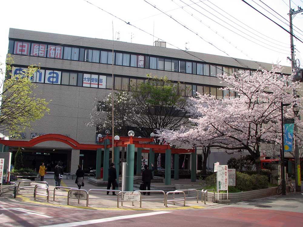 SOS団の集合場所 西宮北口駅前公園
